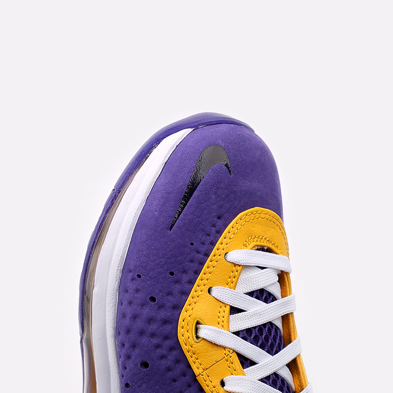 мужские фиолетовые, жёлтые  кроссовки nike lebron viii qs DC8380-500 - цена, описание, фото 8