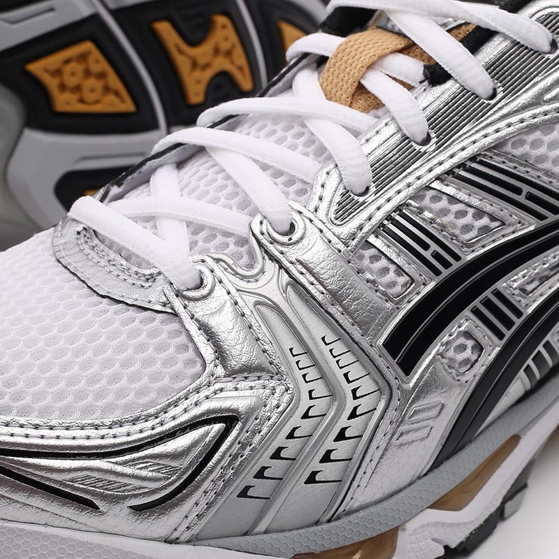мужские белые  кроссовки asics gel-kayano 14 1201A019-102 - цена, описание, фото 7