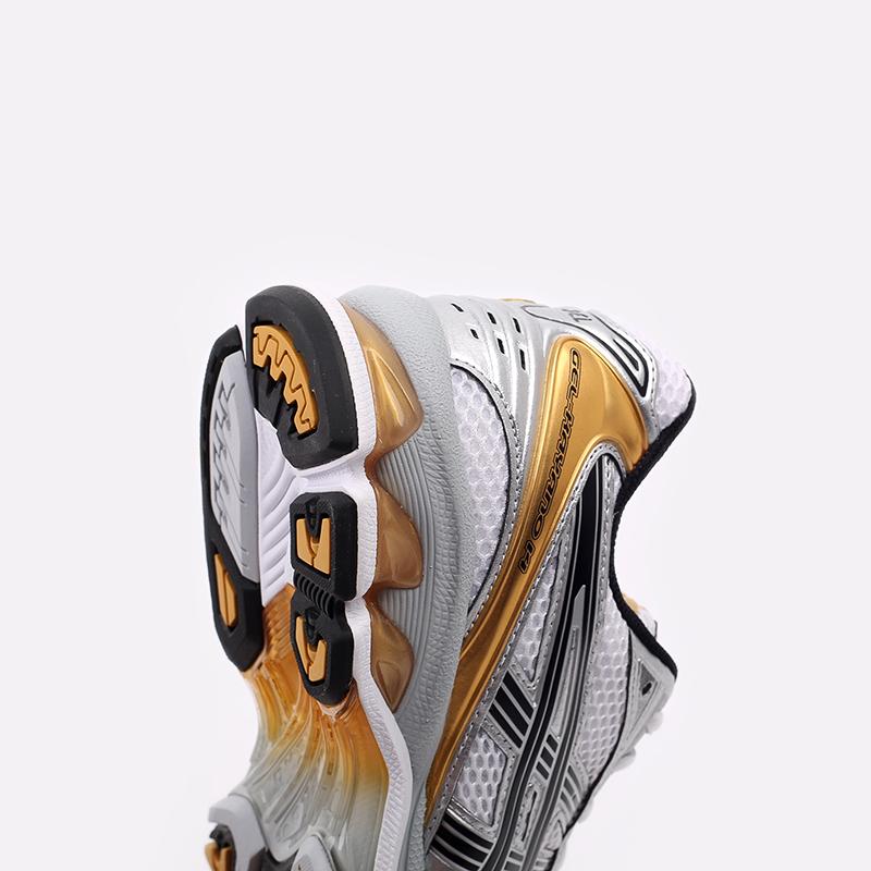 мужские белые  кроссовки asics gel-kayano 14 1201A019-102 - цена, описание, фото 6