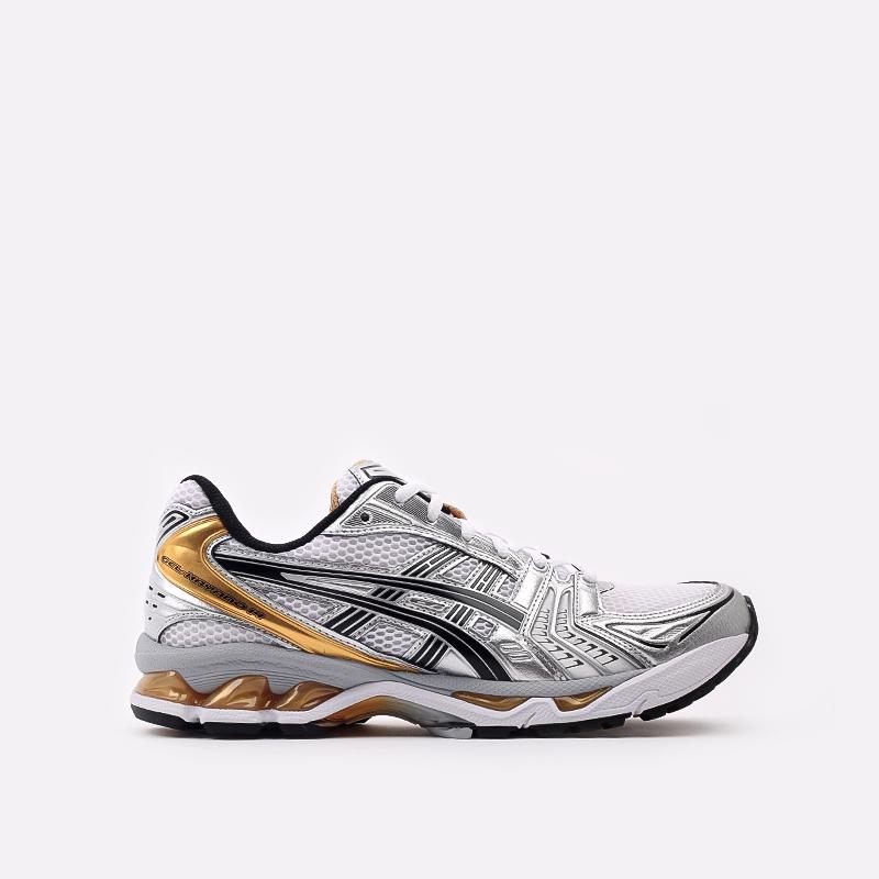 мужские белые  кроссовки asics gel-kayano 14 1201A019-102 - цена, описание, фото 1