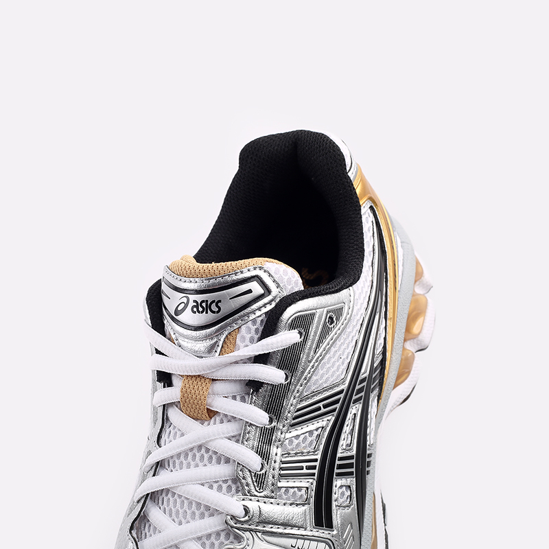 мужские белые  кроссовки asics gel-kayano 14 1201A019-102 - цена, описание, фото 5