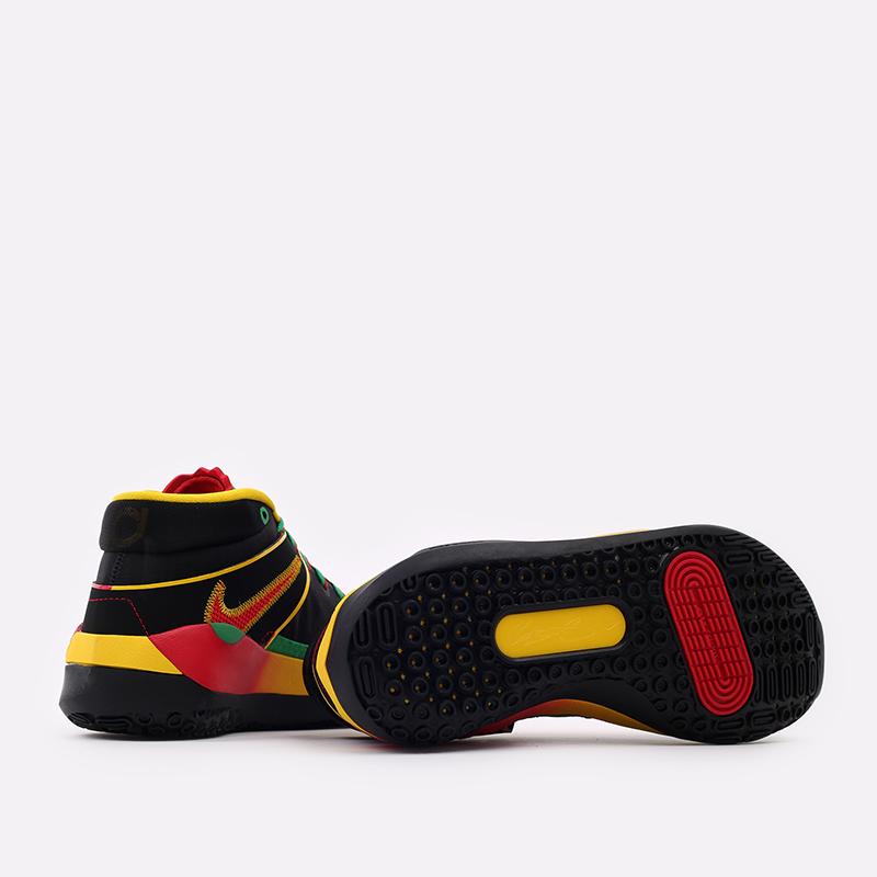 мужские чёрные  кроссовки nike kd13 DC0010-001 - цена, описание, фото 3