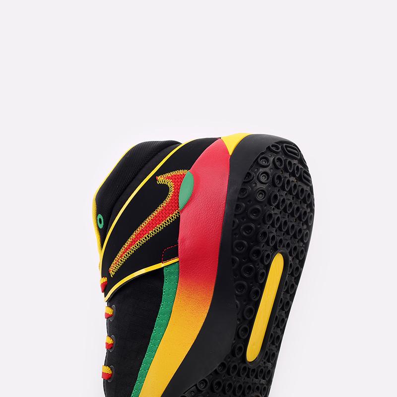 мужские чёрные  кроссовки nike kd13 DC0010-001 - цена, описание, фото 7
