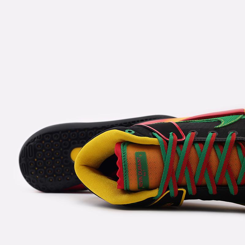 мужские чёрные  кроссовки nike kd13 DC0010-001 - цена, описание, фото 4