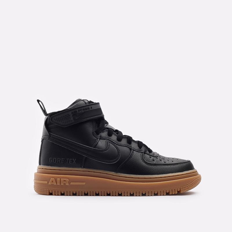 мужские чёрные  кроссовки nike air force 1 gtx boot CT2815-001 - цена, описание, фото 1