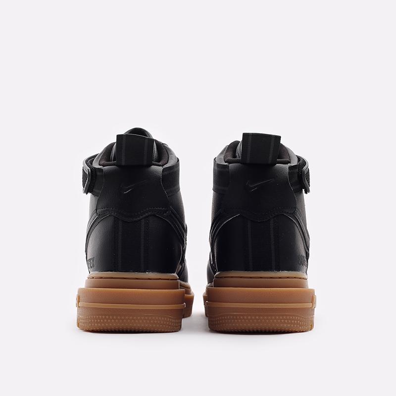 мужские чёрные  кроссовки nike air force 1 gtx boot CT2815-001 - цена, описание, фото 3