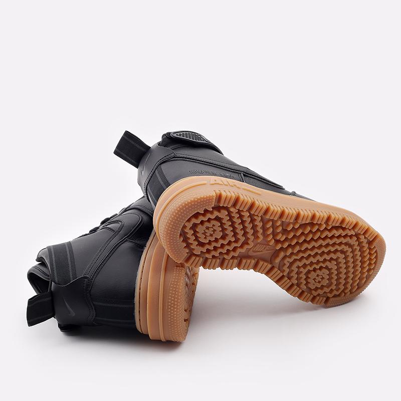 мужские чёрные  кроссовки nike air force 1 gtx boot CT2815-001 - цена, описание, фото 4