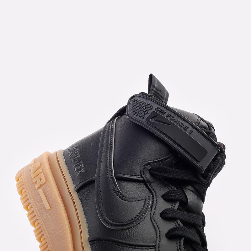 мужские чёрные  кроссовки nike air force 1 gtx boot CT2815-001 - цена, описание, фото 5