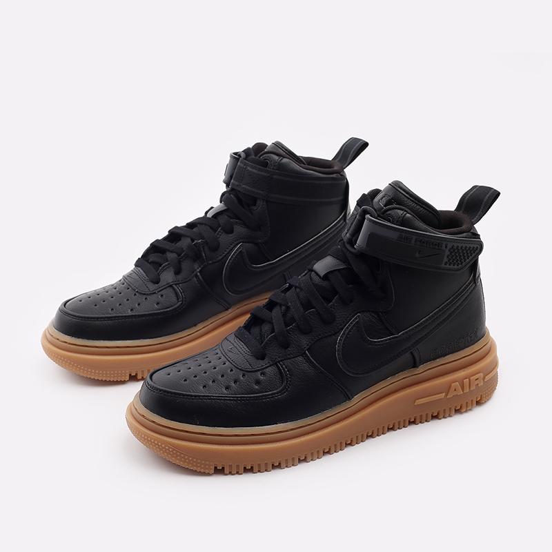 мужские чёрные  кроссовки nike air force 1 gtx boot CT2815-001 - цена, описание, фото 2