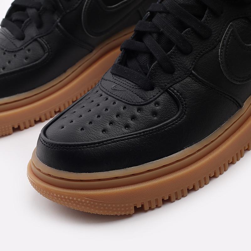 мужские чёрные  кроссовки nike air force 1 gtx boot CT2815-001 - цена, описание, фото 6