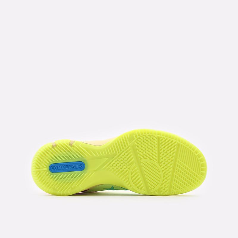 мужские жёлтые  кеды converse g4 ox 169513 - цена, описание, фото 4
