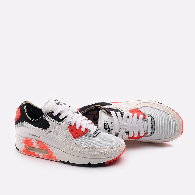 белые  кроссовки nike air max iii prm DC7856-100 - цена, описание, фото 3