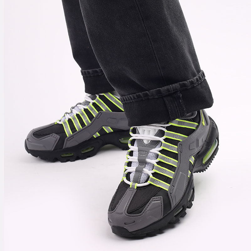 серые  кроссовки nike ndstrkt air max 95 CZ3591-002 - цена, описание, фото 8