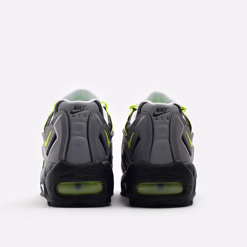серые  кроссовки nike ndstrkt air max 95 CZ3591-002 - цена, описание, фото 4