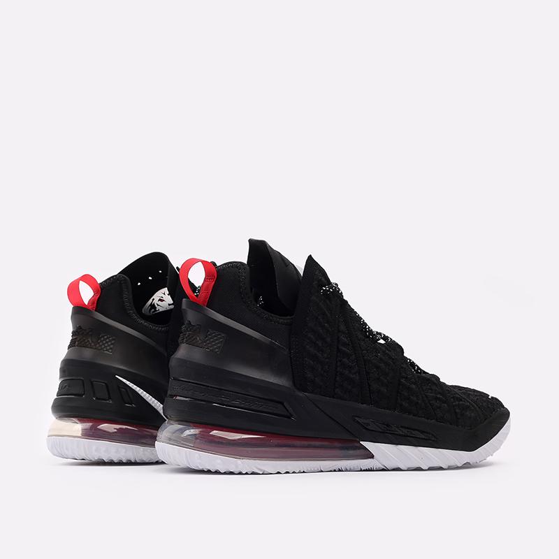 мужские чёрные  кроссовки nike lebron xviii CQ9283-001 - цена, описание, фото 4