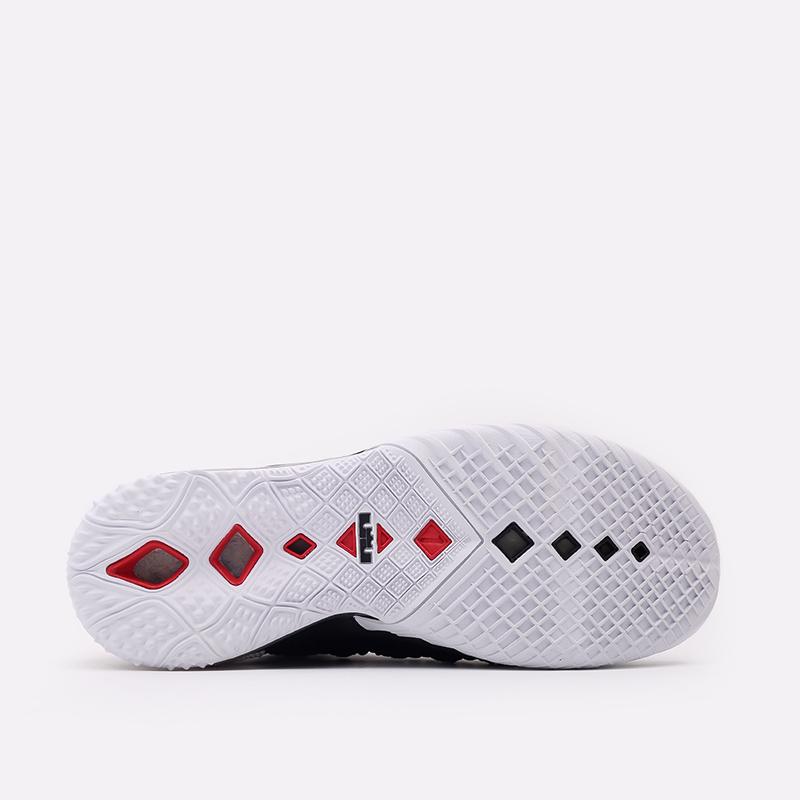 мужские чёрные  кроссовки nike lebron xviii CQ9283-001 - цена, описание, фото 3