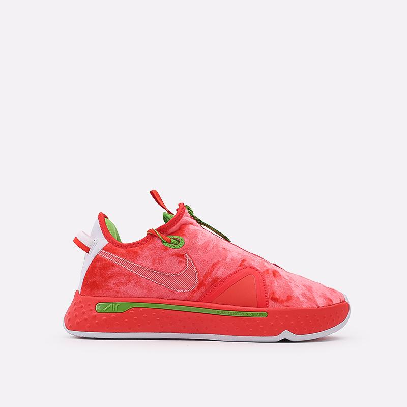 мужские красные  кроссовки nike pg 4 CD5079-602 - цена, описание, фото 1