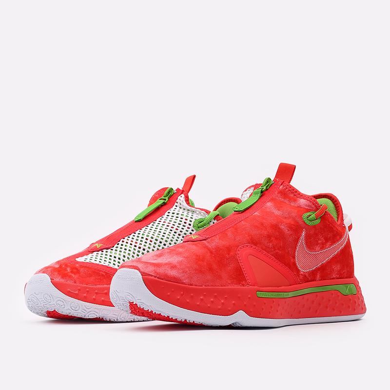 мужские красные  кроссовки nike pg 4 CD5079-602 - цена, описание, фото 2