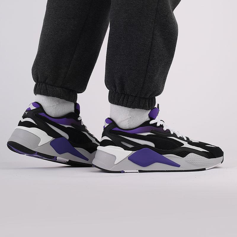 мужские чёрные  кроссовки puma rs-x3 neo fade 37337701 - цена, описание, фото 8