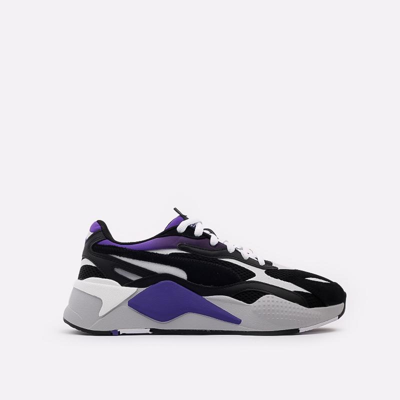 мужские чёрные  кроссовки puma rs-x3 neo fade 37337701 - цена, описание, фото 1