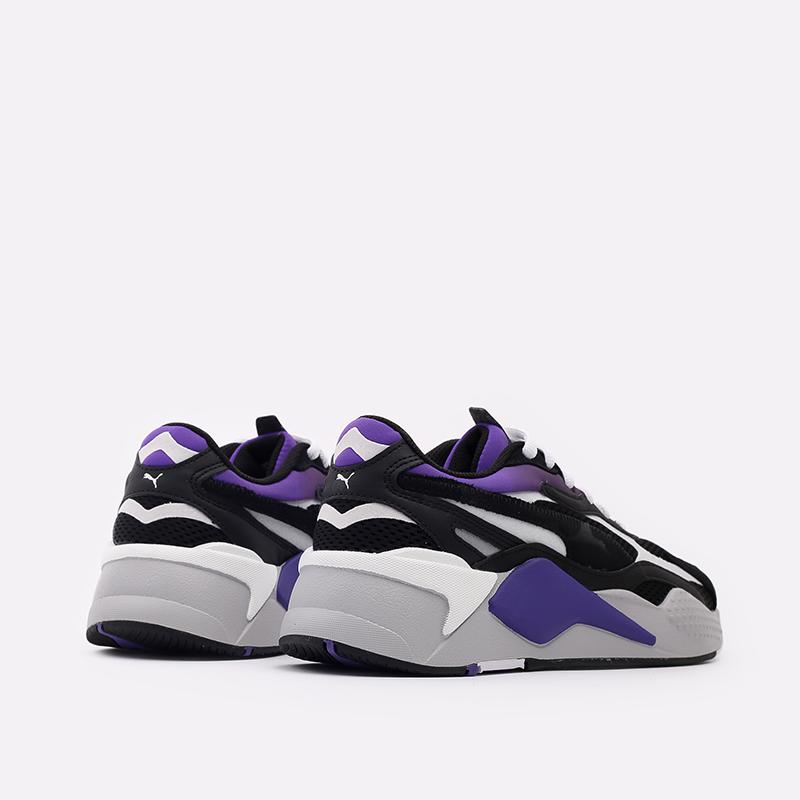 мужские чёрные  кроссовки puma rs-x3 neo fade 37337701 - цена, описание, фото 3