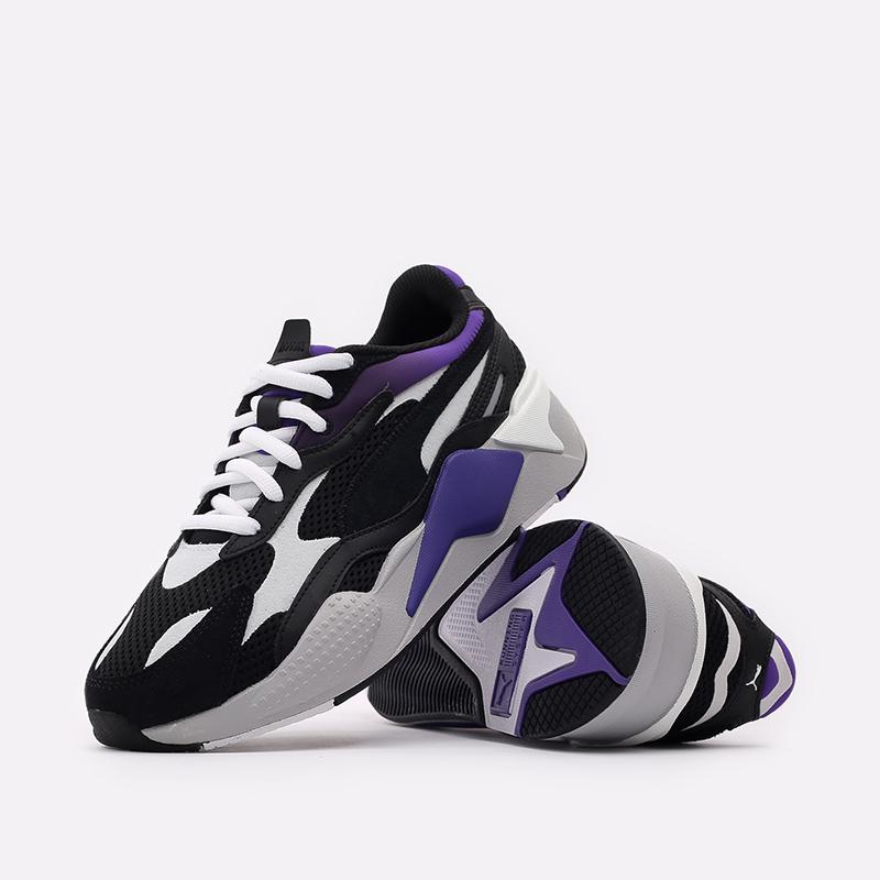 мужские чёрные  кроссовки puma rs-x3 neo fade 37337701 - цена, описание, фото 5