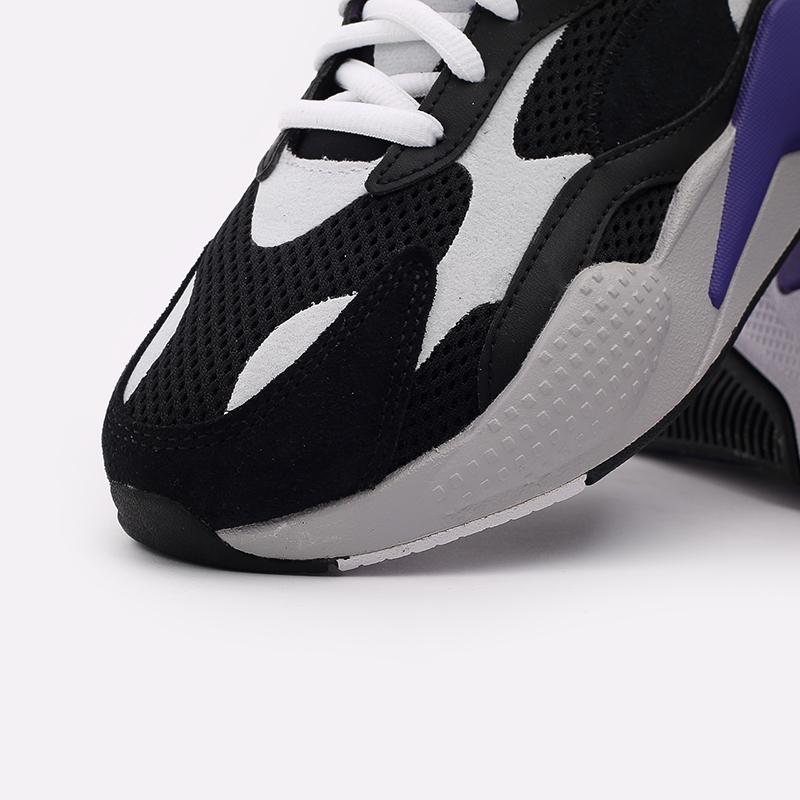 мужские чёрные  кроссовки puma rs-x3 neo fade 37337701 - цена, описание, фото 6