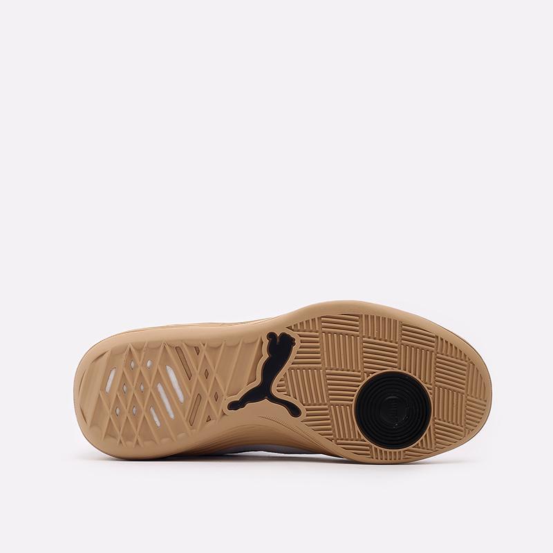 мужские белые  кроссовки puma clyde all-pro kuzma mid 19483601 - цена, описание, фото 3
