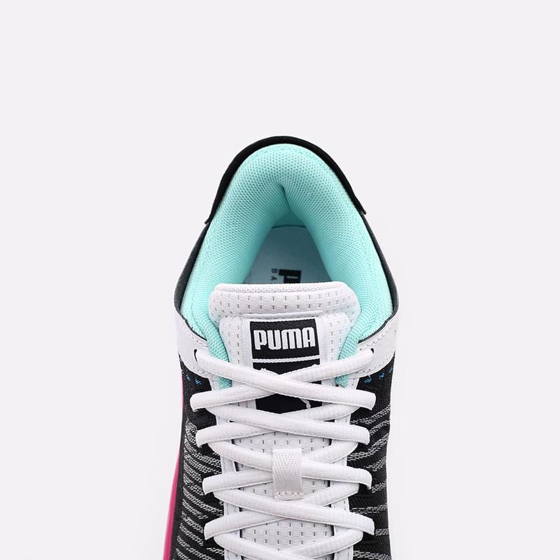 мужские чёрные  кроссовки puma clyde all-pro 19403902 - цена, описание, фото 5