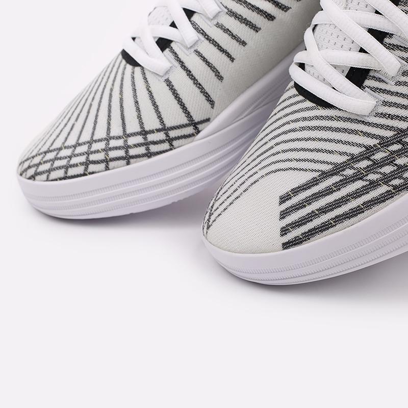 мужские белые  кроссовки puma clyde all-pro 19403903 - цена, описание, фото 6