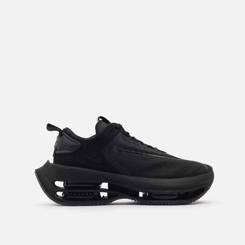 женские чёрные  кроссовки nike wmns zoom double stacked CV8474-002 - цена, описание, фото 1