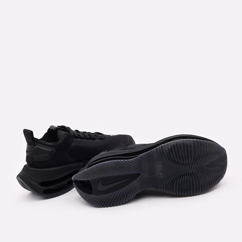 женские чёрные  кроссовки nike wmns zoom double stacked CV8474-002 - цена, описание, фото 4