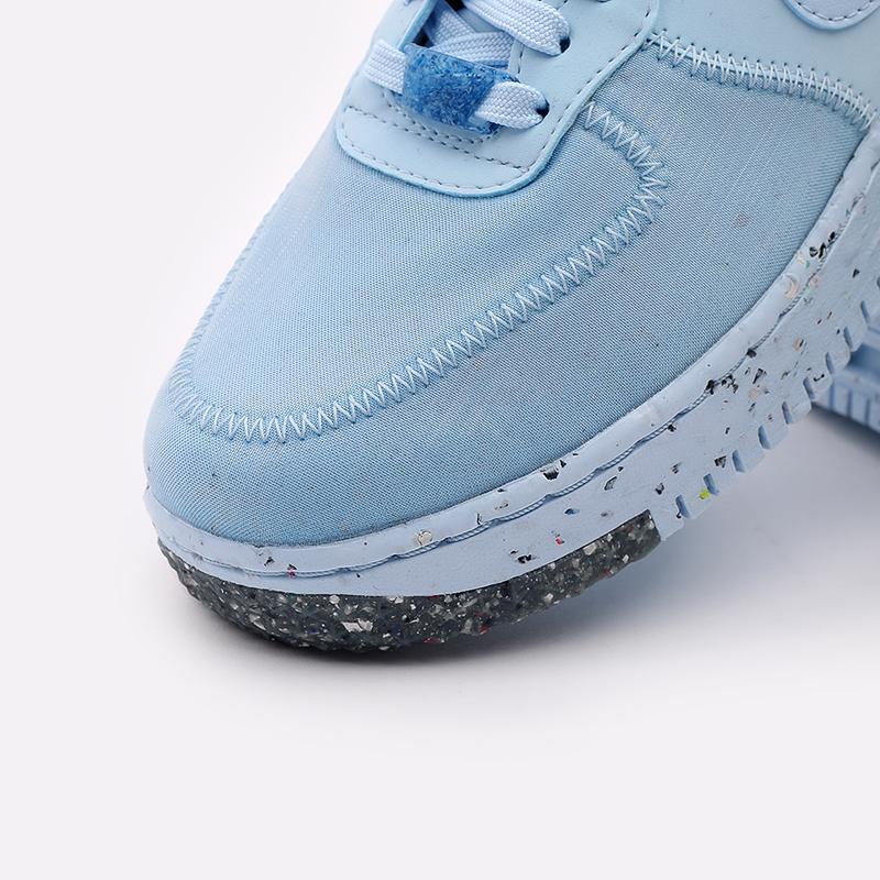 женские голубые  кроссовки nike wmns air force 1 crater CT1986-400 - цена, описание, фото 4