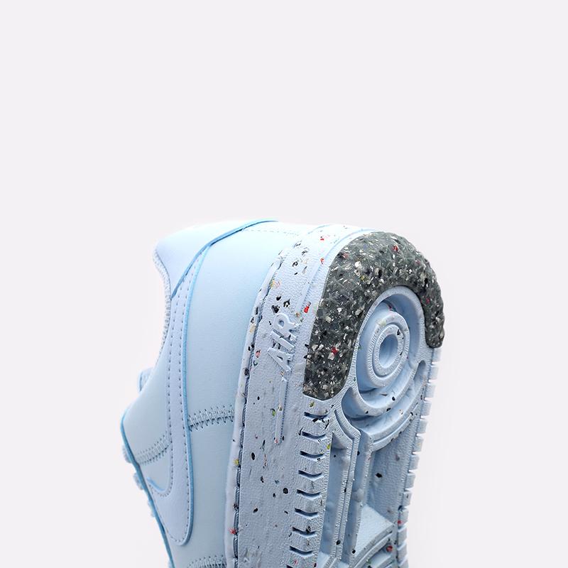 женские голубые  кроссовки nike wmns air force 1 crater CT1986-400 - цена, описание, фото 7