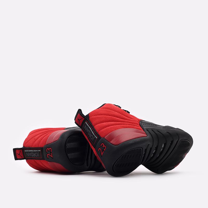 мужские красные, чёрные  кроссовки jordan 12 retro CT8013-602 - цена, описание, фото 3