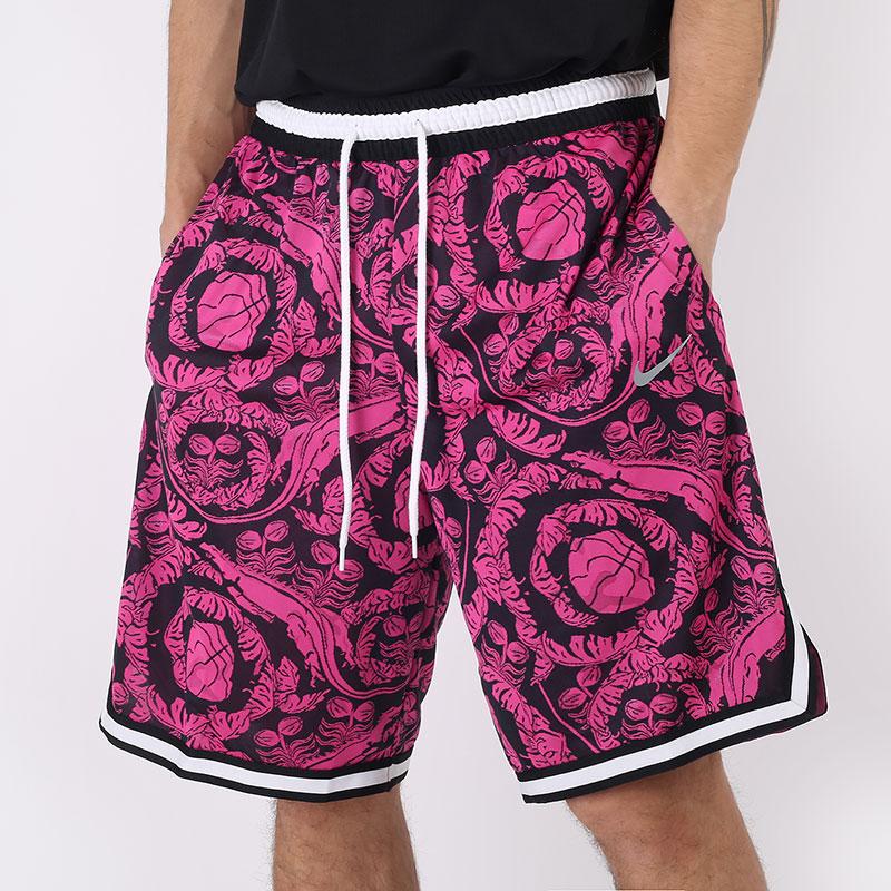 мужские розовые  шорты  nike dri-fit dna exploration series printed basketball shorts CV1905-010 - цена, описание, фото 1