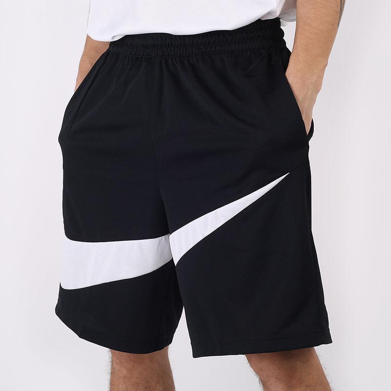 мужские черные  шорты  nike dri-fit hbr shorts BV9385-011 - цена, описание, фото 1