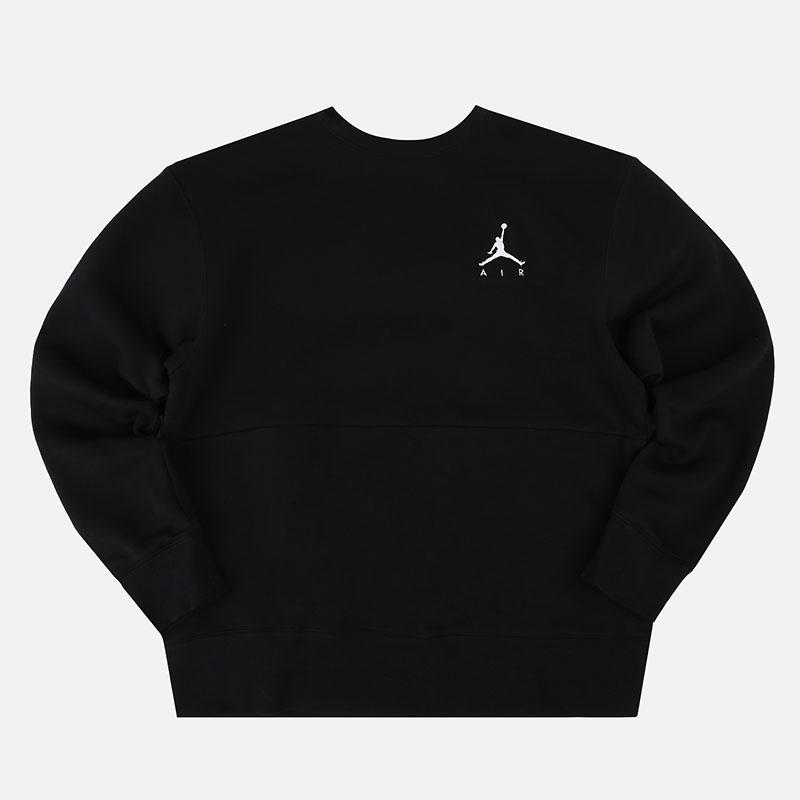 мужскую черную  толстовка jordan jumpman air fleece CT3455-011 - цена, описание, фото 1