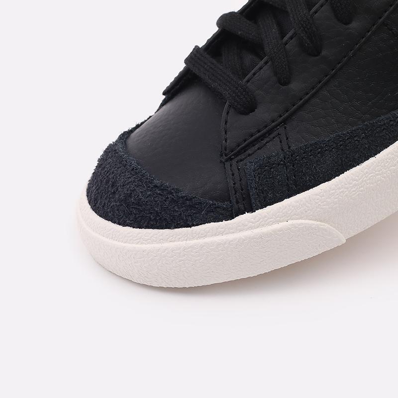 мужские чёрные  кроссовки nike blazer mid '77 vntg BQ6806-002 - цена, описание, фото 8