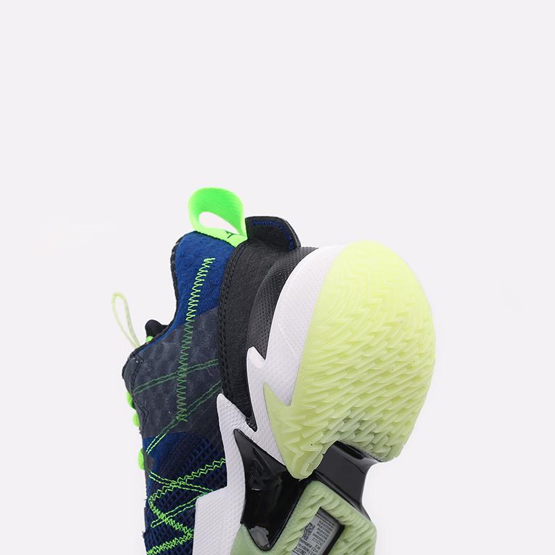 женские чёрные  кроссовки jordan why not zer0.3 se (gs) CN8107-003 - цена, описание, фото 6