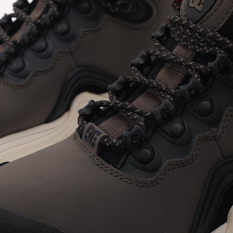 мужские серые  ботинки dc shoes navigator ADYB100008-OB2-OB2 - цена, описание, фото 6