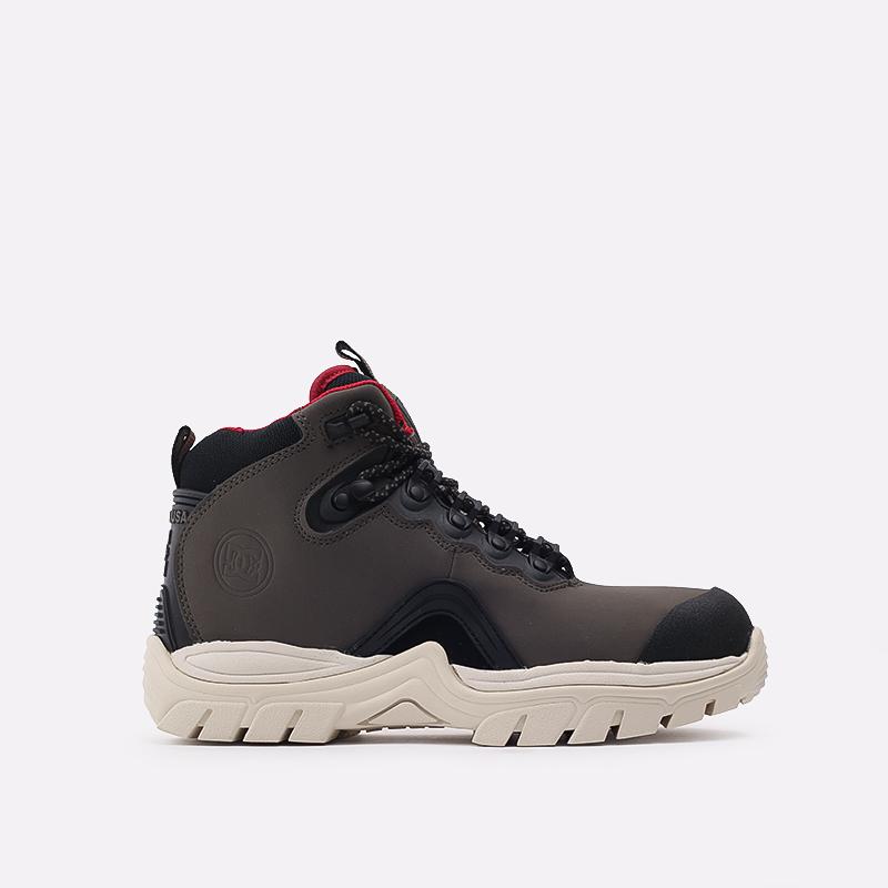 мужские серые  ботинки dc shoes navigator ADYB100008-OB2-OB2 - цена, описание, фото 1