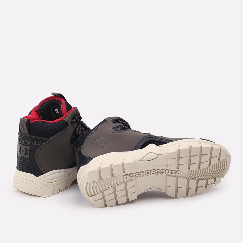 мужские серые  ботинки dc shoes navigator ADYB100008-OB2-OB2 - цена, описание, фото 3