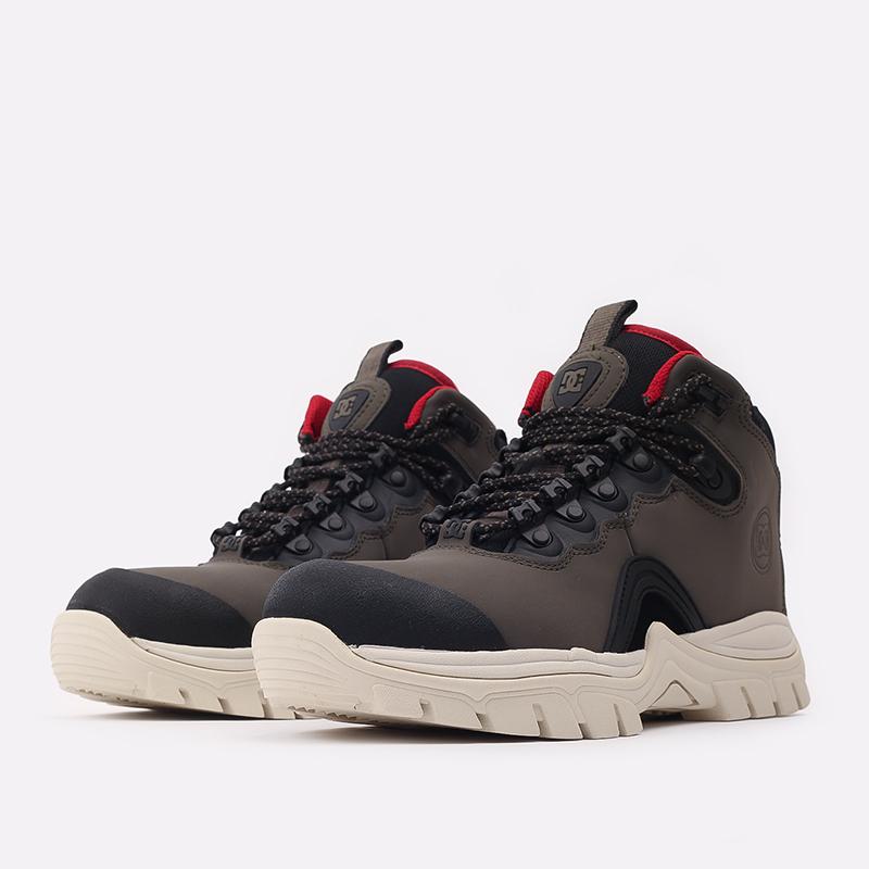 мужские серые  ботинки dc shoes navigator ADYB100008-OB2-OB2 - цена, описание, фото 2