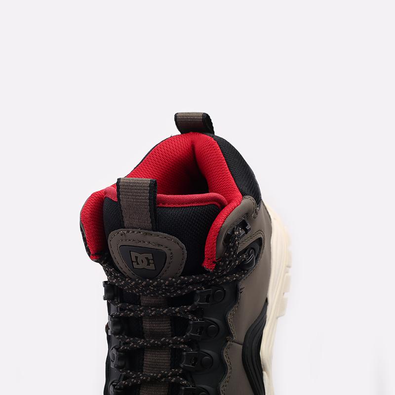 мужские серые  ботинки dc shoes navigator ADYB100008-OB2-OB2 - цена, описание, фото 5