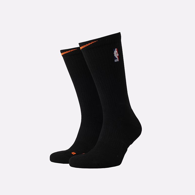 мужские чёрные  носки nike elite crew CK8833-010 - цена, описание, фото 1