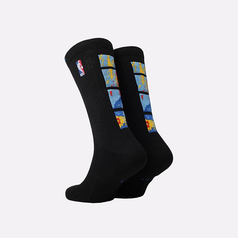 мужские чёрные  носки nike elite crew CK8815-010 - цена, описание, фото 2