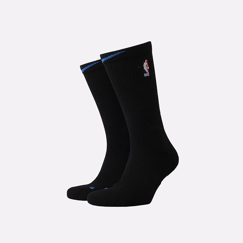 мужские чёрные  носки nike elite crew CK8815-010 - цена, описание, фото 1