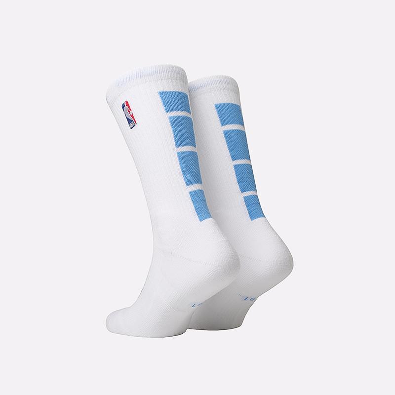 мужские белые  носки nike elite crew CK8827-100 - цена, описание, фото 2