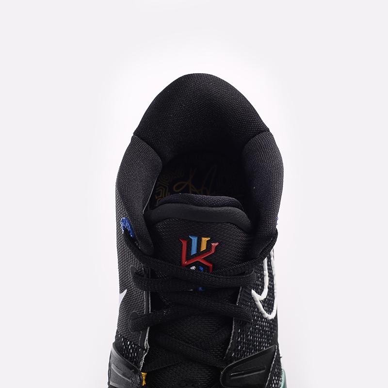 женские чёрные  кроссовки nike kyrie 7 (gs) CT4080-002 - цена, описание, фото 5